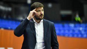 Šćepanović nije više trener KK Partizan