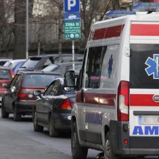 Sedam povređenih u Beogradu! Devojčica među prevezenima u Urgentni centar!