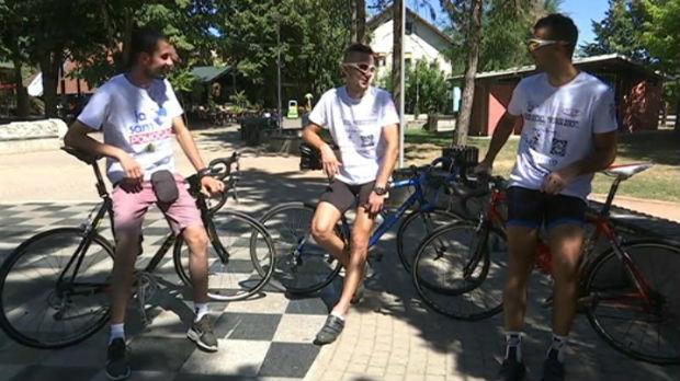 Sedamsto kilometara biciklom za pomoć malom Strahinji