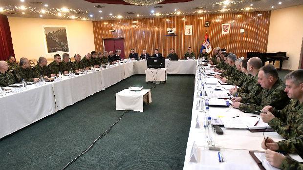 Sednica kolegijuma Ministarstva odbrane