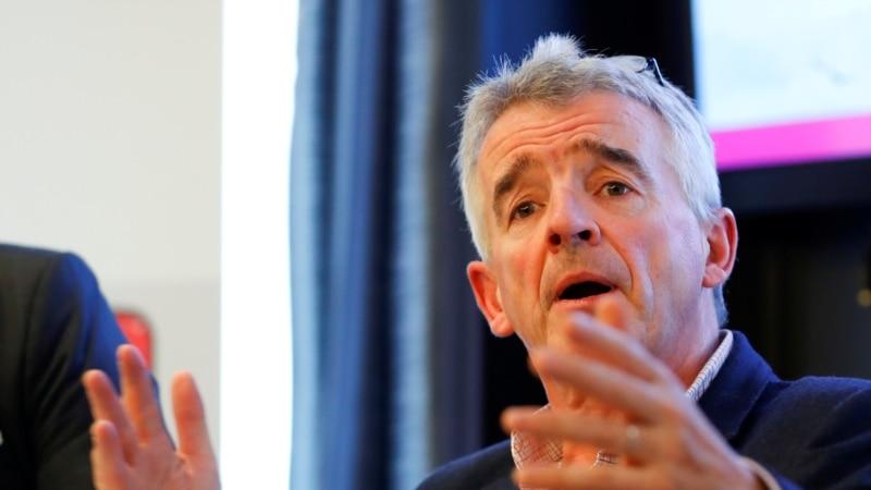 Šef Ryanaira upozorio na 'politizaciju' vazdušnog prostora