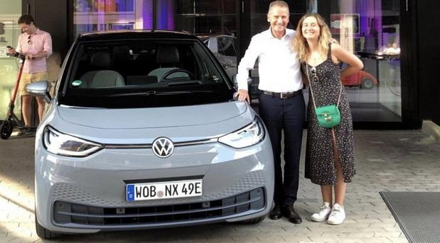 Šef Volkswagena se odvezao električnim ID.3 na godišnji odmor u Italiju