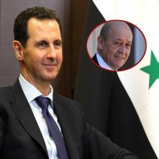 Šef francuske diplomatije PRIZNAO: Asad je DOBIO RAT u Siriji