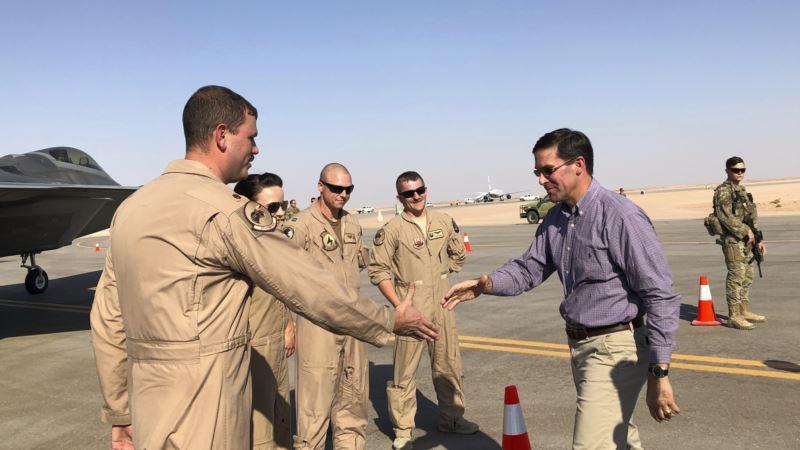 Sekretar odbrane SAD u nenajavljenoj poseti Iraku