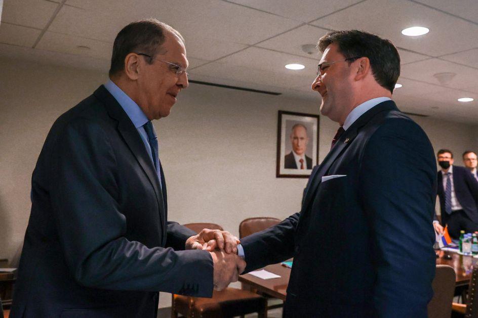 Selaković i Lavrov o krizi na Kosovu i Metohiji: Dalja podrška Rusije