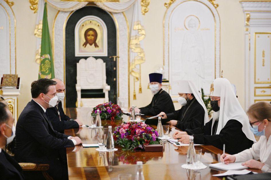 Selaković i patrijarh Kiril: Odnosi SPC i RPC ključni za odnose Srbije i Rusije