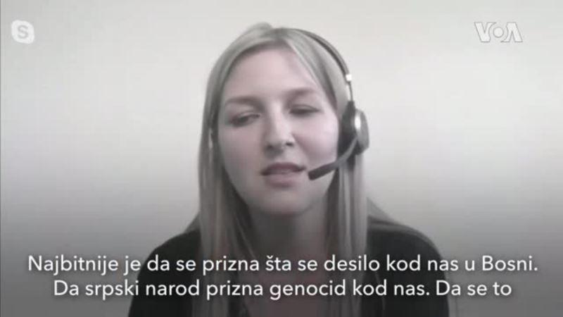 Selma Jahić: Priznanje genocida potrebno za pomirenje i poverenje Bošnjaka i Srba
