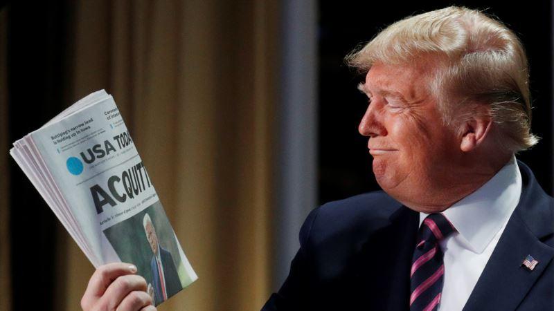 Senat odbacio republikanski pokušaj da zaustavi suđenje Trumpu
