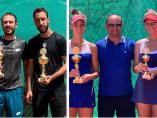 Seniorski teniski turnir u Nišu - slavili Nikola Milojević i Tamara Čurović