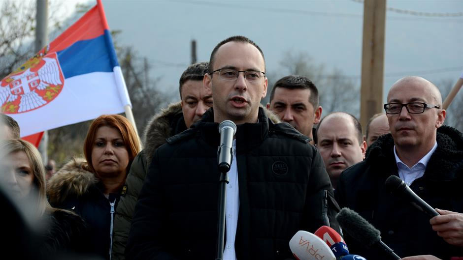 Serb representative in Kosovo says situation is alarming