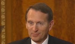 Sergej Nariškin: Rusija 1999. bila slaba da zaštiti Srbiju, danas smo spremni da branimo ...