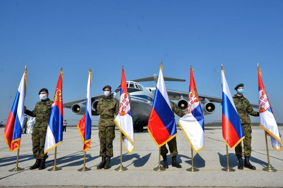 Završeno dopremanje ruske pomoći Srbiji