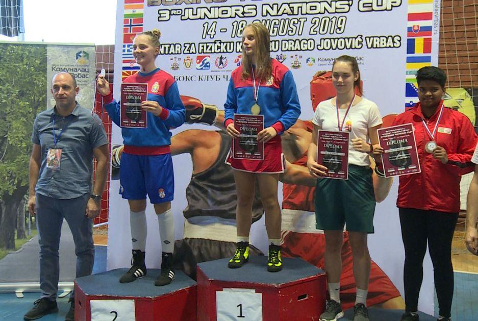Šest medalja za naše juniore na Kupu nacija u boksu