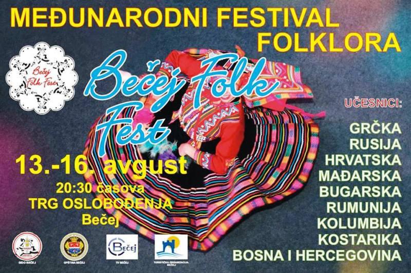 Šesti Bečej folk fest: Nastupi folkloraša iz zemlje i inostranstva