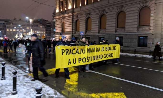 Šesti protest Jedan od pet miliona (FOTO)