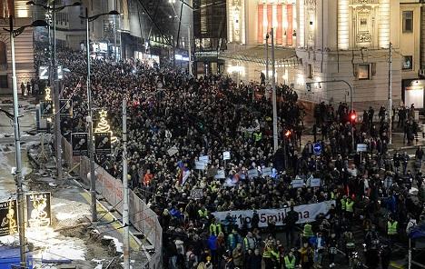 Šesti protest u Beogradu: Traži se utvrđivanje odgovornosti za ubistvo Olivera Ivanovića