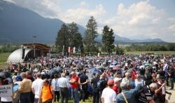 Šestorica u pritvoru u Austriji zbog isticanja fašističkih simbola na Blajburgu