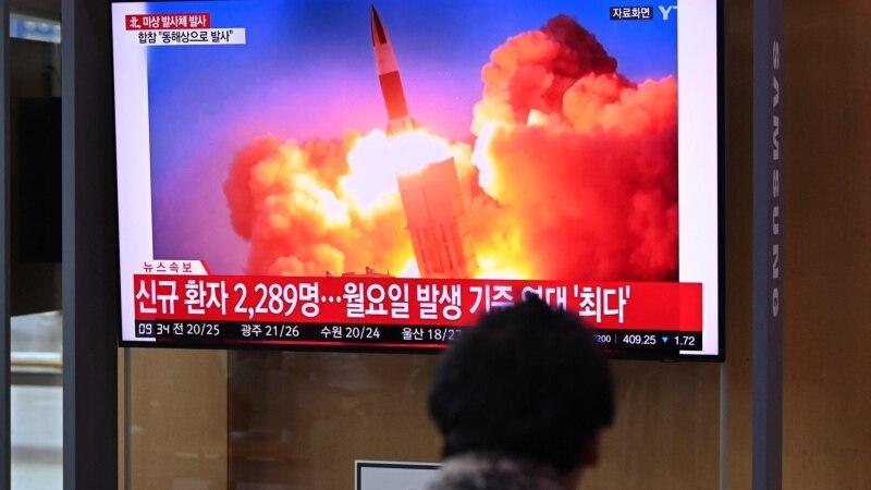 Severna Koreja lansirala još jednu raketu, optužila Južnu za neprijateljstva