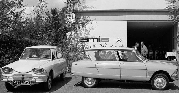 Šezdeseti rođendan modela Citroen Ami 6
