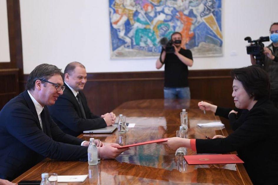 Si u pismu Vučiću: Visoko cenim podršku Srbije