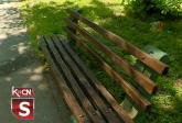 Šid: Popravljene klupe u Slovačkom parku VIDEO