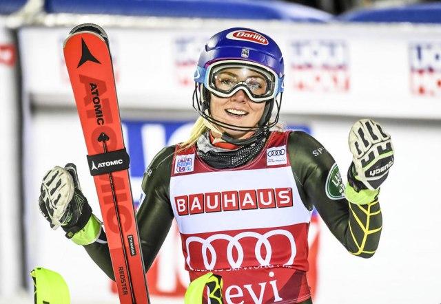 Šifrin do 45. pobede u slalomu