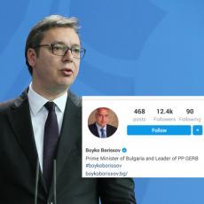 Simbolički gest koji znači Srbiji: Bugarski premijer pružio podršku kampanji Budućnost Srbije