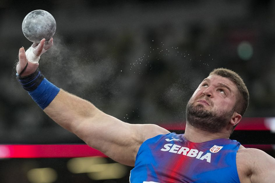 Sinančević u finalu bacanja kugle!