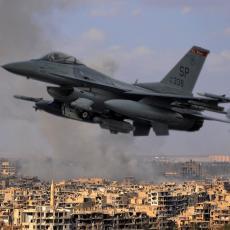 Sirija: Vazdušni udari nelegitimne međunarodne koalicije koriste teroristima Islamske države