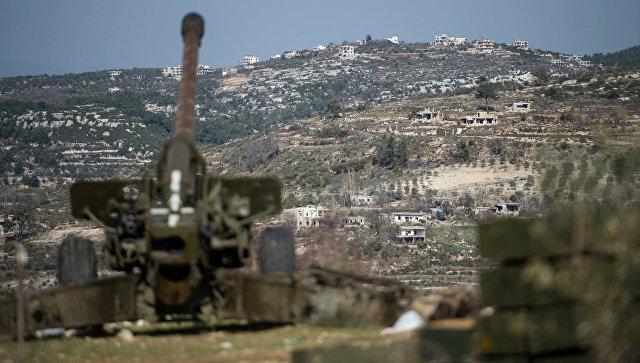 Sirijska vojska granatirala položaje terorista na jugu Idliba