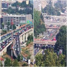 Širom Beograda su VELIKE GUŽVE ovog popodneva: Na ovim lokacijama je NAJKRITIČNIJE
