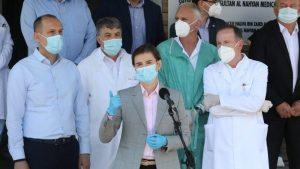 Sklanjali obolele iz hodnika bolnice da se premijerka i ministri ne stresiraju