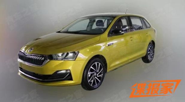 Škoda Rapid Spaceback facelift: nove slike