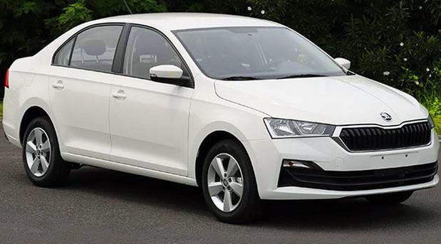 Škoda Rapid facelift (za Kinu)