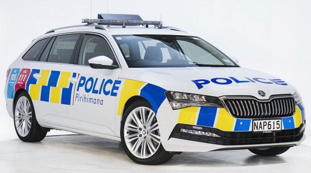 Škoda Superb Combi za policiju Novog Zelanda