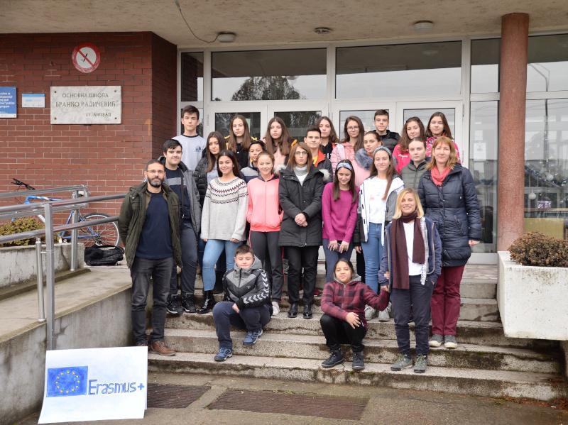 Škola iz Bujanovca deo Evropskog programa za omladinu i obrazovanje