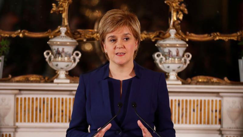 Škotska premijerka najavljuje referendum o nezavisnosti 2021.
