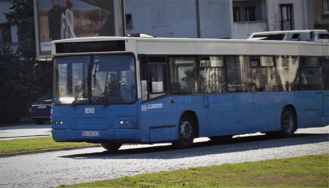 Skraćenje linije gradskog prevoza 76 u Novom Sadu