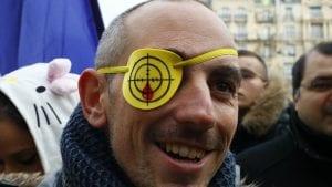 Skup francuskih Žutih prsluka u Ženevi