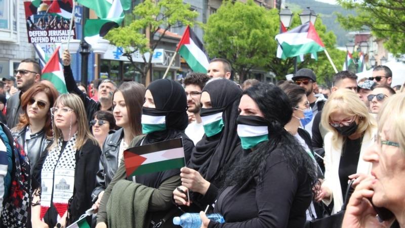Skup podrške Palestincima u Novom Pazaru