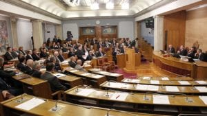 Skupština Crne Gore počela raspravu o novoj vladi,  u sali i Đukanović