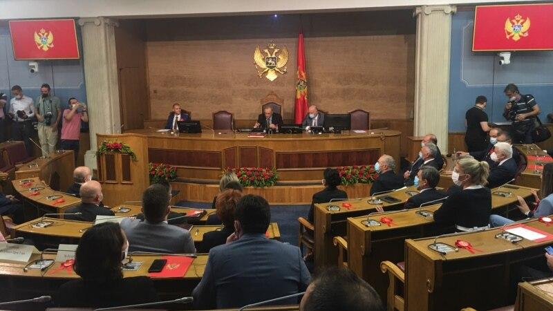 Skupština Crne Gore raspravlja o smjeni ministra Leposavića