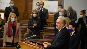 Skupština Crne Gore razmatra smenjivanje ministra pravde zbog izjava o Srebrenici