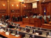 Skupština Kosova nije podržala zakon o OVK