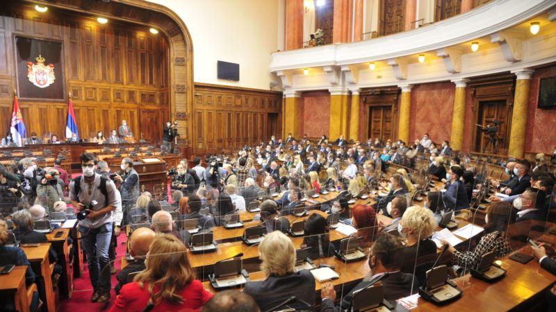 Skupština Srbije izglasala novu Vladu