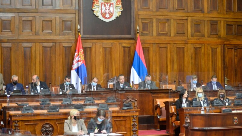 Skupština Srbije raspravlja o izmeni zakona o sprečavanju korupcije