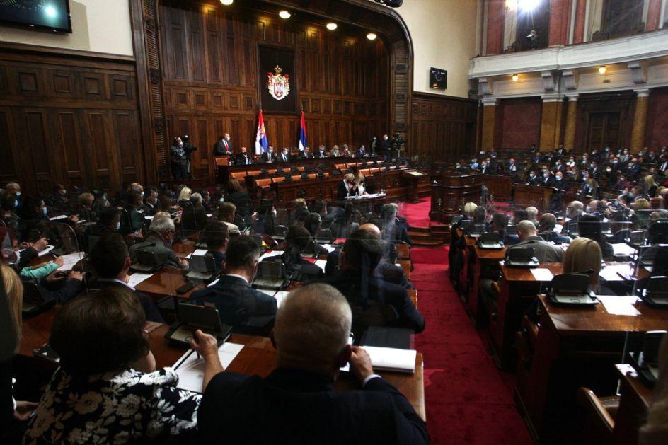 Skupština Srbije: Usvojen Zakon o ministarstvima