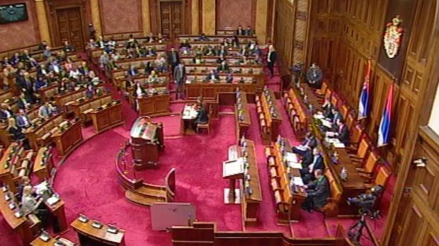Skupština o amandmanima na izmene Zakona o PIO