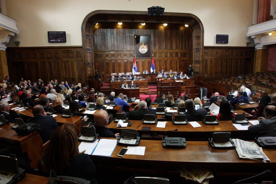 Skupština o amandmanima na set zakona iz oblasti prosvete