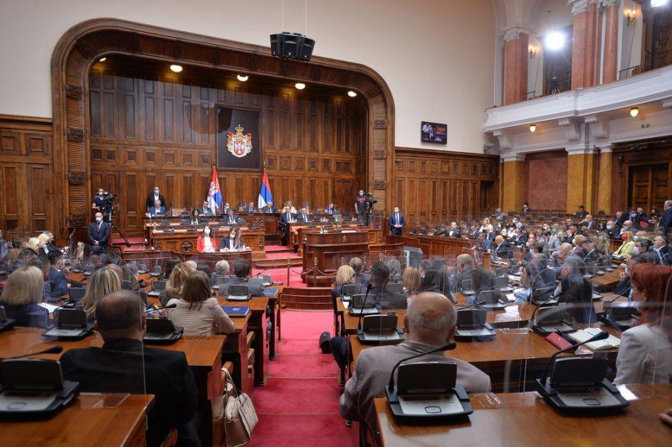 Skupština o izmenama Zakona o visokom obrazovanju